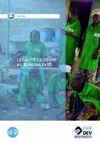 Égalité de genre au Burkina Faso