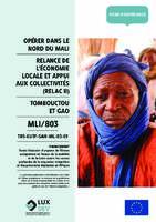 Relance de l'économie locale et appui aux collectivités (RELAC II)